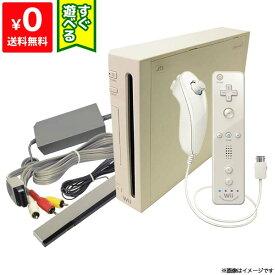Wii ニンテンドーWii 本体 (シロ) Wiiリモコンプラス付き (RVL-S-WAAG) すぐ遊べるセット Nintendo 任天堂 4902370518382【中古】