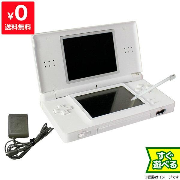 DSライト DSLite 本体 ホワイト ニンテンドー 任天堂 Nintendo 中古 充電器&タッチペン付き すぐ遊べるセット 4902370512946 送料無料 【中古】