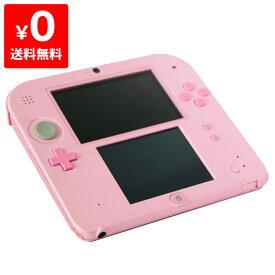 2DS ニンテンドー2DS ピンクFTR-S-PBAA 本体のみ タッチペン付き Nintendo 任天堂 ニンテンドー 4902370533989 【中古】