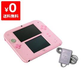 2DS ニンテンドー2DS ピンクFTR-S-PBAA 本体 すぐ遊べるセット Nintendo 任天堂 ニンテンドー 4902370533989 【中古】