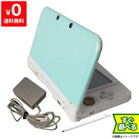 3DSLL ニンテンドー3DS LL ミントXホワイト 本体 すぐ遊べるセット Nintendo 任天堂 ニンテンドー 4902370520651 【中古】