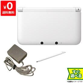 3DSLL ニンテンドー3DS LL ホワイト 本体 すぐ遊べるセット Nintendo 任天堂 ニンテンドー 4902370519563 【中古】
