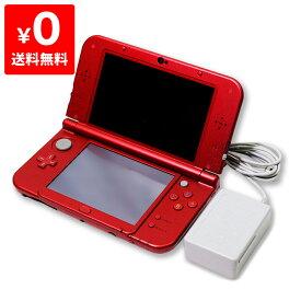 New3DSLL Newニンテンドー3DS LL メタリックレッド(RED-S-RAAA) 本体 すぐ遊べるセット Nintendo 任天堂 ニンテンドー 4902370529883 【中古】