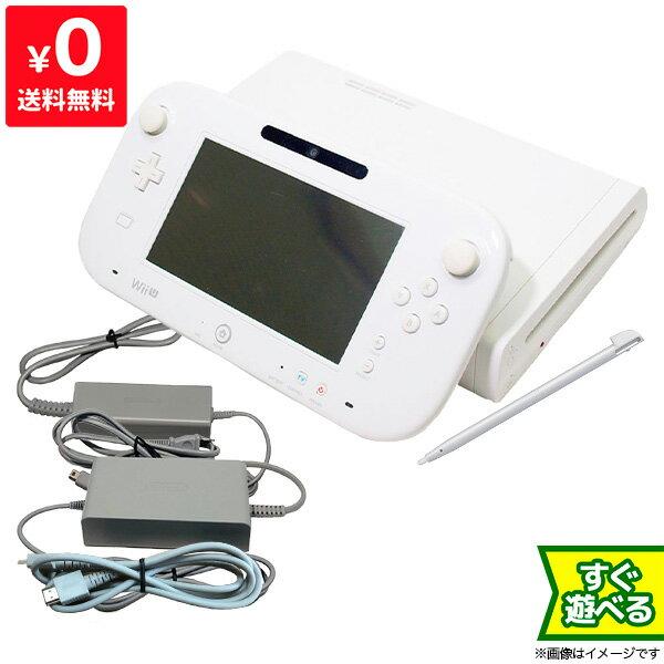 Wii U ウィーユー 本体 ベーシックセット 本体 すぐ遊べるセット ニンテンドー 任天堂 Nintendo ゲーム機 【中古】 4902370519877 送料無料