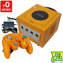 ゲームキューブ GC GAMECUBE 本体 オレンジ ニンテンドー 任天堂 Nintendo 【中古】 すぐに遊べるセット 490237050576…