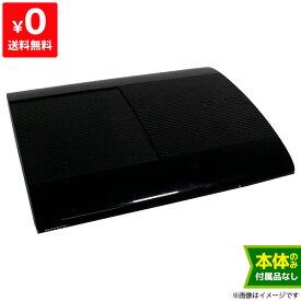 PS3 プレステ3 PlayStation3 チャコール・ブラック 500GB (CECH4300C) SONY ゲーム機 本体のみ 4948872413831 【中古】