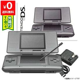 DS ニンテンドーDS グラファイトブラックNTR-S-ZKKA 本体 完品 外箱付き Nintendo 任天堂 ニンテンドー 中古 4902370509885 送料無料 【中古】