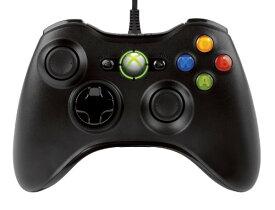 【送料無料】Xbox 360 コントローラー 有線 リキッドブラック【中古】