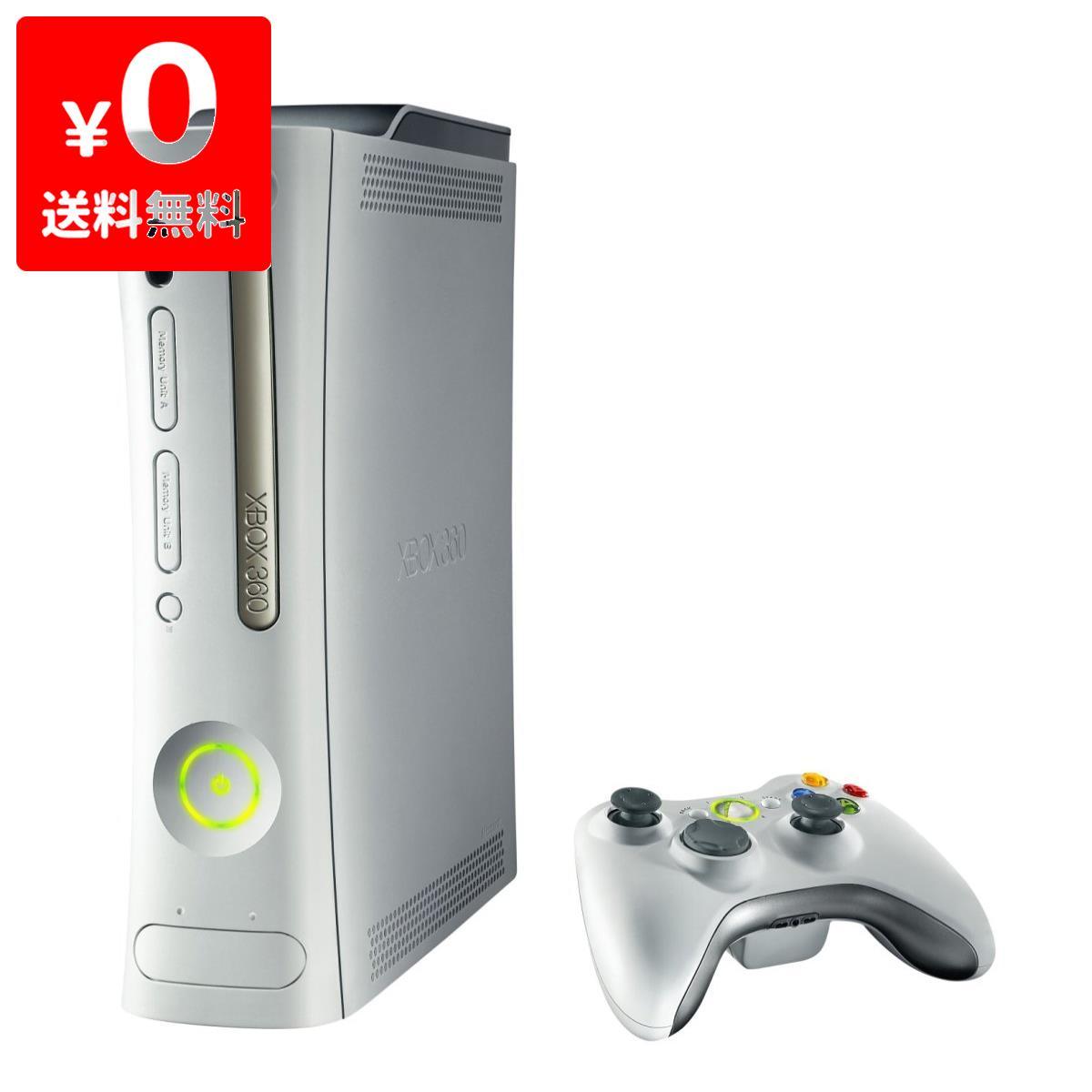 【送料無料】Xbox 360 通常版 HDMI端子なし HDD20GB 本体 すぐ遊べるセット Xbox360【中古】
