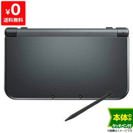New3DSLL New ニンテンドー3DS LL メタリックブラックRED-S-VAAA 本体のみ タッチペン付き Nintendo 任天堂 ニンテンドー 4902370522181 【中古】