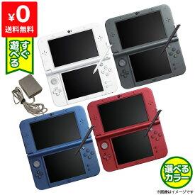 New3DSLL Newニンテンドー3DSLL 本体 すぐ遊べるセット 選べる4色 Nintendo 任天堂 ニンテンドー 中古 4902370522174 送料無料 【中古】