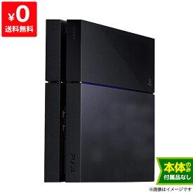 PS4 プレステ4 プレイステーション4 PlayStation4 ジェット・ブラック CUH-1200AB01 500GB 本体のみ 本体単品【中古】