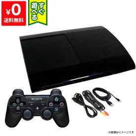 PS3 プレステ3 PlayStation 3 チャコール・ブラック 250GB (CECH-4200B) SONY ゲーム機 すぐ遊べるセット 4948872413558 【中古】