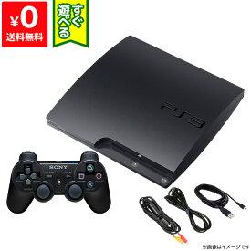 PS3 プレステ3 PlayStation 3 (320GB) チャコール・ブラック (CECH-3000B) SONY ゲーム機 すぐ遊べるセット 4948872412810 【中古】