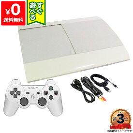 PS3 プレステ3 PlayStation 3 クラシック・ホワイト 250GB (CECH-4200BLW) SONY ゲーム機 すぐ遊べるセット 4948872413565 【中古】