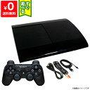 PS3 プレステ3 PlayStation3 チャコール・ブラック 500GB (CECH4300C) SONY ゲーム機 すぐ遊べるセット 4948872413831…