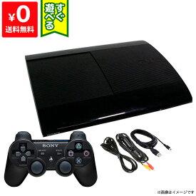 PS3 プレステ3 PlayStation3 チャコール・ブラック 500GB (CECH4300C) SONY ゲーム機 すぐ遊べるセット 4948872413831 【中古】