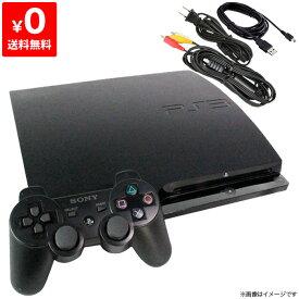 【送料無料】PS3 プレステ3 PlayStation3 プレイステーション3 本体 CECH-3000A チャコール・ブラック SONY ゲーム機 中古 すぐ遊べるセット 4948872412827【中古】