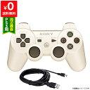 PS3 プレステ3 コントローラー ワイヤレス デュアルショック3 USB 白 ホワイト クラシックホワイト USBケーブル付 【…