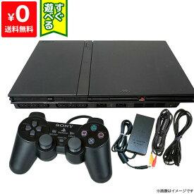 PS2 プレステ2 プレイステーション2 SCPH-75000CB 本体 すぐ遊べるセット コントローラー付き PlayStation2 SONY ソニー 4948872410977 【中古】