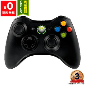 PC ゲームパッド Gamepad 無線 Xbox 360 ワイヤレス コントローラー リキッド ブラック 4988648725713 【中古】