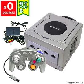 ゲームキューブ GC GAMECUBE 本体 シルバー ニンテンドー 任天堂 Nintendo 【中古】 すぐに遊べるセット 4902370506204
