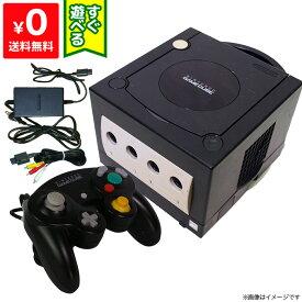 ゲームキューブ GC NGC 本体 【中古】 ブラック 黒 クロ すぐに遊べるセット Nintendo 任天堂 ニンテンドー 4902370505757