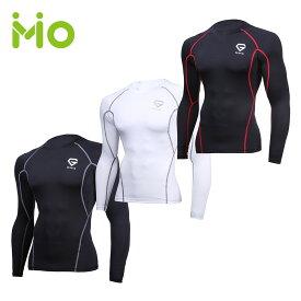 GronG(グロング) コンプレッション ウェア スポーツ インナー 長袖 メンズ アンダーシャツ スポーツシャツ UPF50+