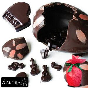 母の日 プレゼント ギフト 音楽 チョコ タマゴ 【サプライズエッグ】 最上級クーベルチュール チョコレート使用 [ ギフト,プレゼント,贈り物,記念日,誕生日,お菓子,面白い,インスタ映え,パー