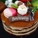 予約販売 クリスマス ケーキ ティラミス 5号 (4〜5名) ギフト クリスマスケーキ Xmas 2020 記念日ケーキ サプライズ キャラクター サンタクロース【送料無料】