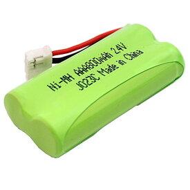 パナソニック ( panasonic ) コードレス子機用充電池【 KX-FAN57 / BK-T412 対応互換電池 】 J023C 【メール便送料無料】 | バッテリー 充電池 電池 充電式電池 ニッケル水素電池 互換バッテリー 互換 コードレス 子機 電話 電話機