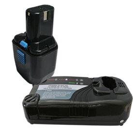 充電器セット 日立工機 (Hitachi Koki) EB 12B 互換バッテリー 12.0V (A) 3.0Ah Ni-MH + マルチ充電器 【あす楽対応】【送料無料】