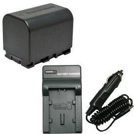 充電器セット ビクター(Victor) BN-VG121 互換バッテリー + 充電器(コンパクト) 【あす楽対応】 【送料無料】