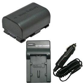 充電器セット ビクター(JVC) BN-VG114 互換バッテリー + 充電器(コンパクト) 【あす楽対応】 【送料無料】