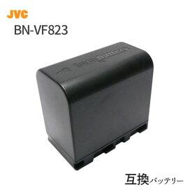 【残量表示可】 ビクター(JVC) BN-VF823 互換バッテリー (VF808 / VF815 / VF823 ) 【あす楽対応】【送料無料】|ビデオカメラ ビデオ カメラ バッテリー リチウムイオン リチウムイオンバッテリー アクセサリー カメラバッテリー 互換 リチウムイオン電池