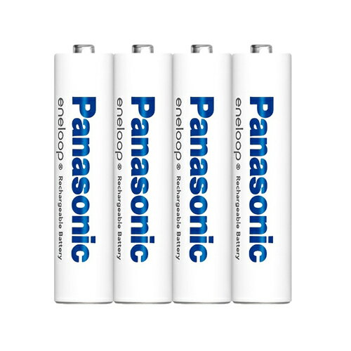 4本パック Panasonic/パナソニック eneloop エネループ 単4形ニッケル水素充電池 【メール便送料無料】