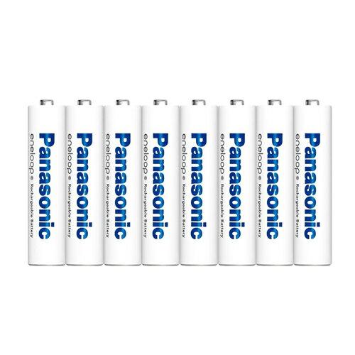 8本パック Panasonic/パナソニック eneloop エネループ 単4形ニッケル水素充電池 【メール便送料無料】