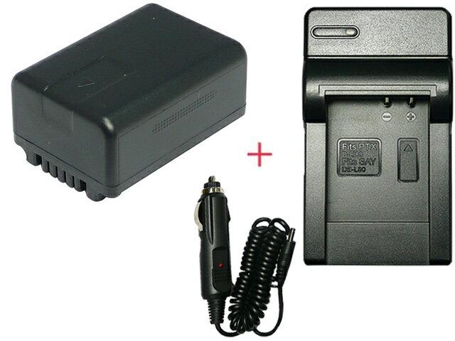充電器セット パナソニック(Panasonic) VW-VBK180-K 互換バッテリー + 充電器(コンパクトタイプ) 【あす楽対応】【送料無料】