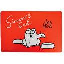 サイモンズ・キャット プレイスマット 「ボス」 | 猫用 食器マット