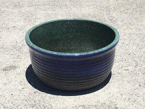 睡蓮鉢メダカ、金魚、水生植物に約39cm JKS M 【水鉢】【メダカ鉢】【めだか鉢】