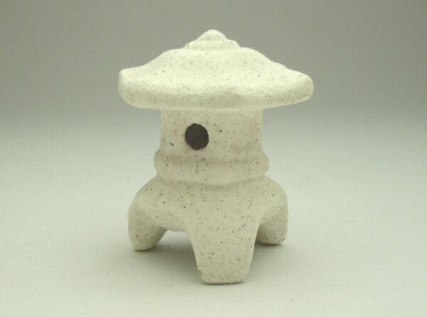 雪見灯篭 1寸和の演出【陶器鉢】【日本製】【植木鉢】【盆栽】