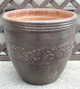 大きい陶器鉢2420B 大【寄せ植え】【陶器鉢】【植木鉢】【大鉢】