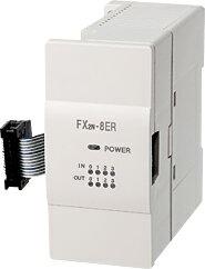 三菱電機 〓 マイクロシーケンサ入出混合増設ブロック(マイクロシーケンサに入出力4点づつ増設できます。) 〓 FX2N-8ER