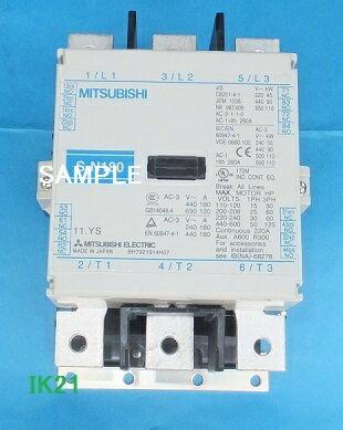 三菱電機 〓 電磁接触器(サーマルリレーなし、解放形) 〓 S-N220 コイル電圧AC200V