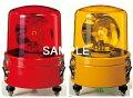 パトライト〓大型回転灯Φ162:赤〓使用電圧:AC100V〓SKL-110CA-R