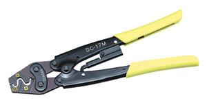 電気工事士技能試験対策工具♪JEFCOM(ジェフコム) VAミニ圧着工具 E型リングスリーブ用品番:DC-17M