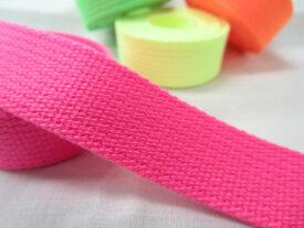 ボンネルテープ 蛍光色(ネオンカラー) 2ミリ厚 25ミリ巾