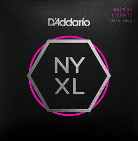 D'Addario NYXL Series 4-String Electric Bass Strings [NYXL45100SL]