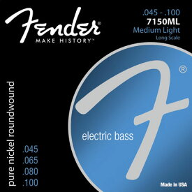 Fender USA 7150ML Pure Nickel Bass Strings(045-100) [エレキベース弦] (#0737150405)