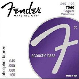 "Fender USA 7060 Phosphor Bronze Acoustic Bass [30""/32""] (045-100) [アコースティックベース弦] (#0739120406)"